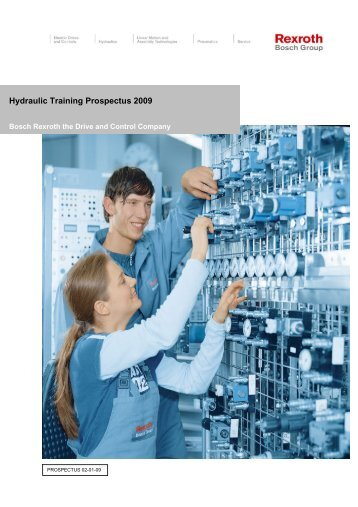 Download here the Hydraulic Training Course ... - Bosch Rexroth