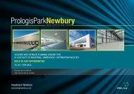 Investing in Newbury - Prologis