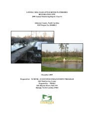 LOWELL MILL DAM-LITTLE RIVER WATERSHED RESTORATION ...