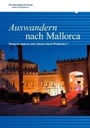 Auswandern nach Mallorca - Mallorca Immobilien