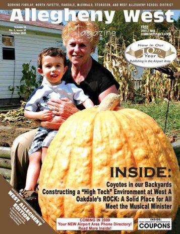 October 2008 - Allegheny West Magazine