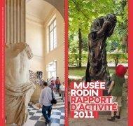 Télécharger le rapport d'activité 2011 - Musée Rodin