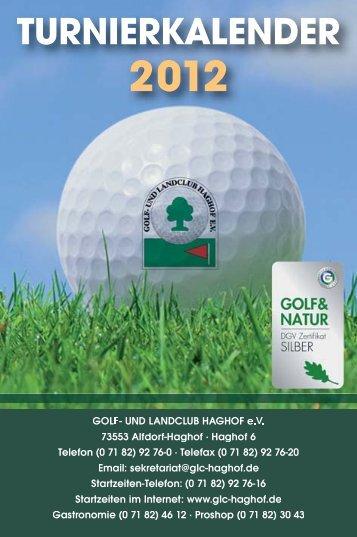 Turnierkalender 2012_Turnierkalender 2008 - Golf- und Landclub ...