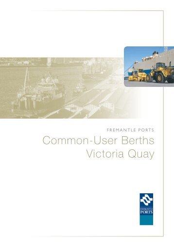 Common-User Berths Victoria Quay - Fremantle Ports