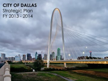 Strategic Plan - City of Dallas