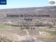 Sistema de comunicaciones Tetra