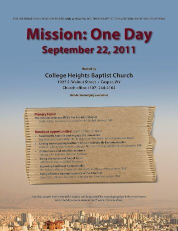 Mission: One Day