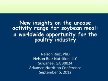 PowerPoint-Nelson Ruiz - The Poultry Federation