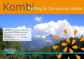 Rafting & Canyoning classic