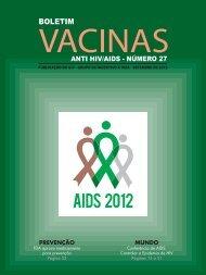 Boletim Vacinas - GIV - Grupo de Incentivo à Vida