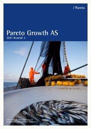 Pareto Growth AS - Pareto Project Finance