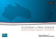 Australian and New Zealand Retirement Villages ... - Minter Ellison