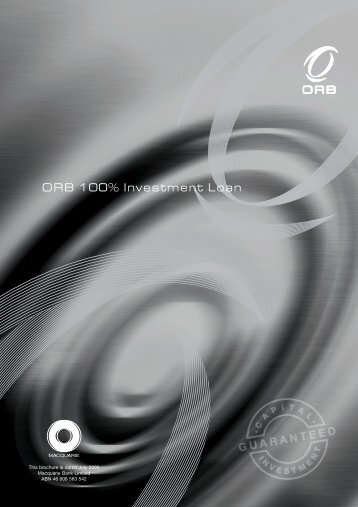 ORB 100% Investment Loan