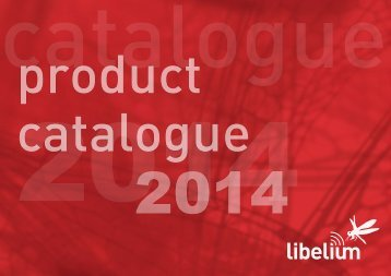Products Catalogue - Libelium