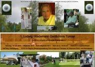 1. Ludwig Wiedemann Gedächtnis Turnier - Golfclub Gut Ludwigsberg