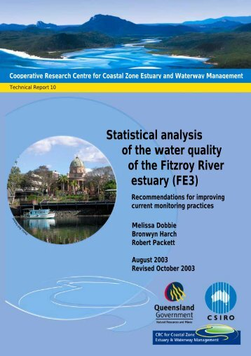 Statistical analysis of the water quality of the Fitzroy ... - OzCoasts