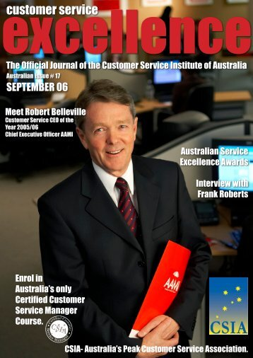 Issue 17 - Customer Service Institute of Australia