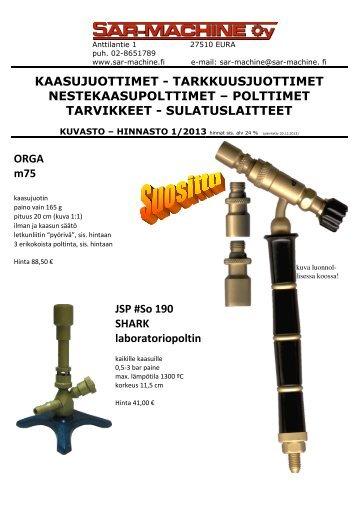 Juotoslaitteet - SAR-Machine Oy