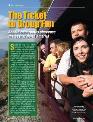 Best Scenic Rail Trips - Leisure Group Travel