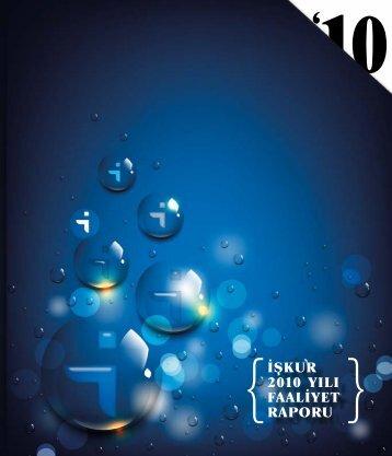 2010 Yılı Faaliyet Raporu - Türkiye İş Kurumu