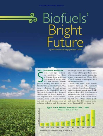 Biofuels Bright Future - Emerging Markets Online