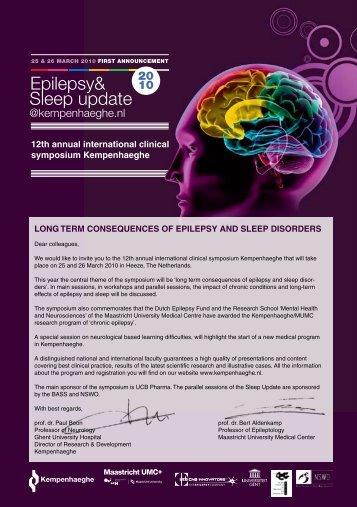 Program Epilepsy&Sleep update 2010
