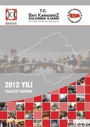 2012 YILI - Batı Karadeniz Kalkınma Ajansı