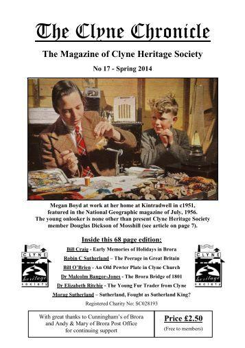 The Clyne Chronicle