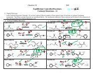 Additions Carbonyl-1.. - Moravian College Chemistry Department