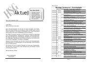 Heft 1 für das Schuljahr 2009 / 2010 - HSG