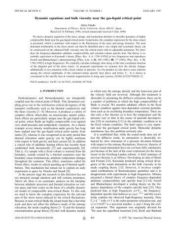 Dynamic equations and bulk viscosity near the gas-liquid critical point