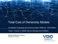 Mobile & Wireless Practice by David Krebs, Director of VDC ... - Soti
