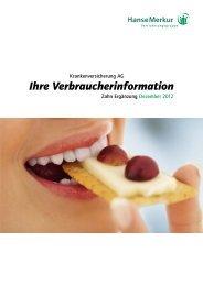 Zahn-Zusatz AVB´s 0112-2012