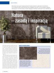 Natura – zasadą i inspiracją - impress