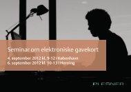 Seminar om elektroniske gavekort - Plesner