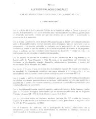 alfredo palacio gonzález presidente constitucional de la ... - OTCA