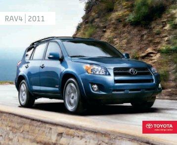 raV4 2011 - Toyota Canada
