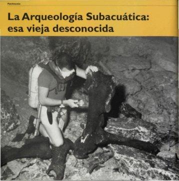 La Arqueología Subacuática: esa vieja desconocida - Grupo de ...