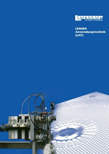 LENSER Anwendungstechnik (LAT) - Lenser Filtration GmbH + Co.