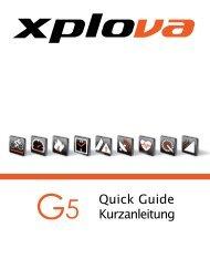 Xplova G5 QG_EN+GR_Version 1.10_German - GPS-Gipfel.de