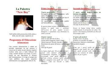 CORSI per PALESTRE - Dieta della salute - Dott. Fabrizio MODA