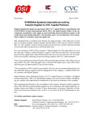 Press release as pdf - IK Investment Partners