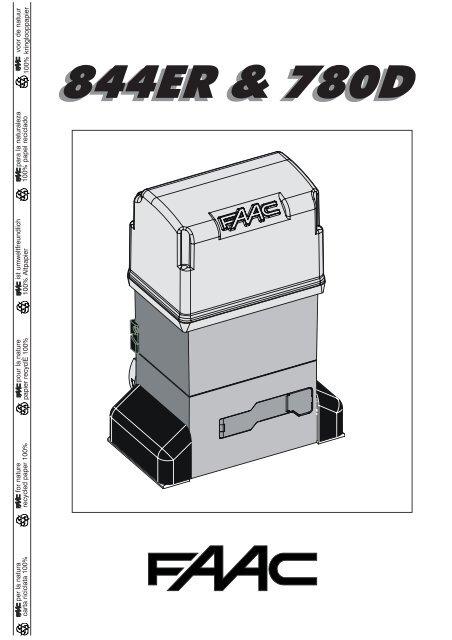 Faac-844 ds1 codtable service manual download, schematics, eeprom.