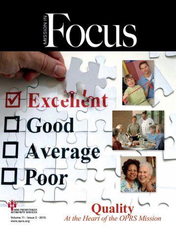 Issue 2 - Ohio Presbyterian Retirement Services