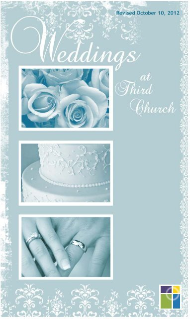 The Third Church Wedding Brochure Packet