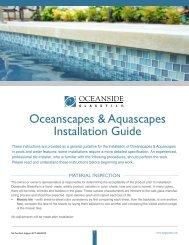 Installation Guide - National Pool Tile & Oceanside Glasstile