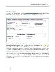 Create Expense Report (Non
