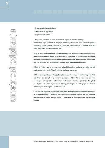 Katalog od 1 do 25 strani - Okna Dornik