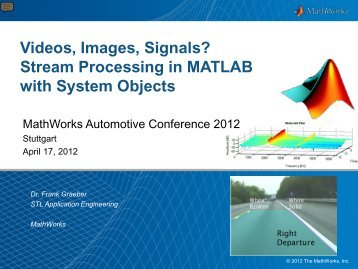 Download presentation - MathWorks