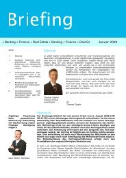Editorial Mietrecht + Banking + Finance + Real Estate + Banking + ...